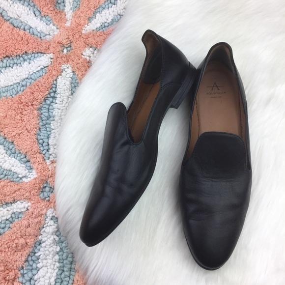 Emmaline Leather Weatherproof Loafers
